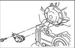 Cam sensor on a pontiac 3.