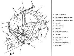 2000 Chevy Blazer: fuel pump..pump relay..Module..switch