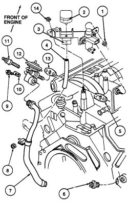 1998 Ford Mustang Hoses Diagram, 1998, Free Engine Image