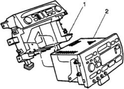 ENTERTAINMENT SYSTEMS & radio details 1998 Cadillac