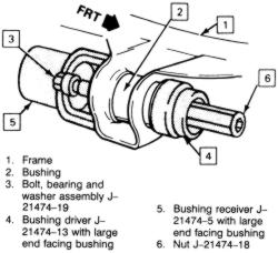 2000 Cadillac Deville Rear Suspension 2000 Cadillac