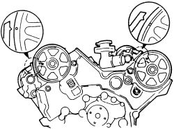 how do i set the timing on a 1993 mazda 626......cam gears