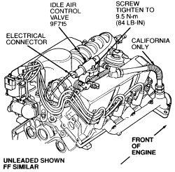 1988 Ford Truck F150 1/2 ton P/U 4WD 5.0L MFI OHV 8cyl
