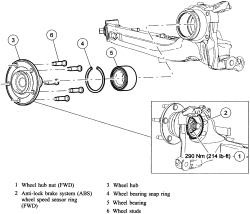 2004 Ford Truck F150 1/2 ton P/U 2WD 4.6L MFI SOHC 8cyl