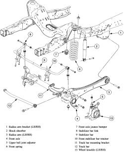 Wiring Diagram: 31 F350 Front Suspension Diagram