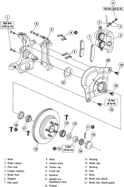 Search Results 2005 F150 2wd Rear Disc Brake Rotor Removal