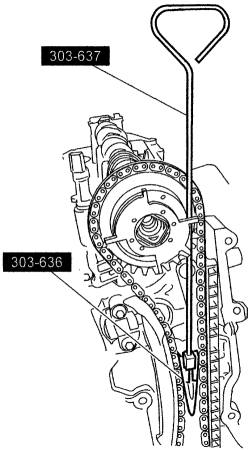 schematics and diagrams: Ford Camshaft, Bearings & Lifters
