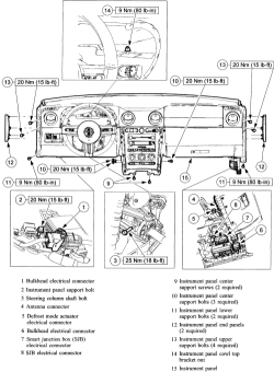 schematics and diagrams: Instrument cluster gauge Bulb