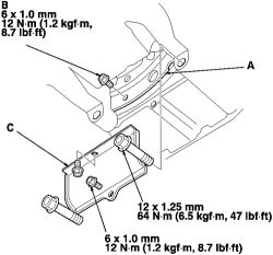 The Small Engine Mounting Bolt Pattern Mercedes Engine