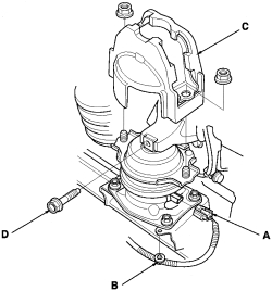 schematics and diagrams: How to Replace Engine on 2008
