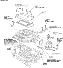 schematics and diagrams: How to replace Intake Manifold on