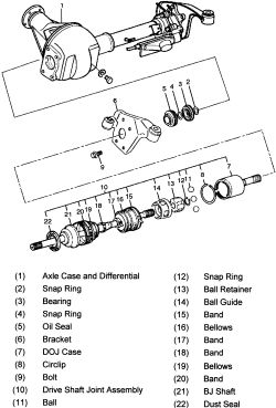 Isuzu Rodeo Front Axle Parts Diagram. Isuzu. Auto Wiring