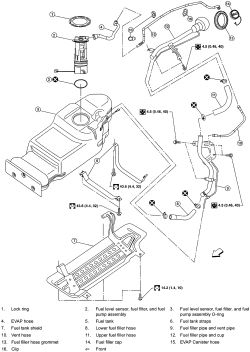 2001 Oldsmobile Intrigue Cooling System Diagram, 2001