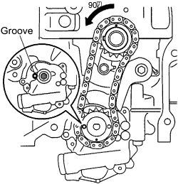 2007 Toyota: instruction on how to replace a timing belt