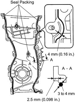 schematics and diagrams: How to remove timing chain on