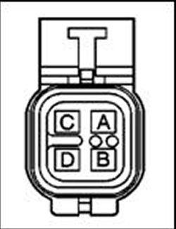 | Repair Guides | Connector Pin Identification | Oxygen Sensor Connectors | AutoZone