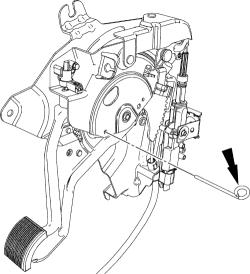 2003 Ford expedition parking brake adjustment