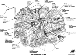 1996 Chevrolet Truck Astro Van AWD 4.3L FI OHV 6cyl