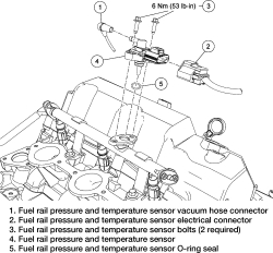 Where Is The Coolant Temperature Sensor Location On A 2003