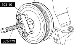 schematics and diagrams: How To Replace Crankshaft Damper
