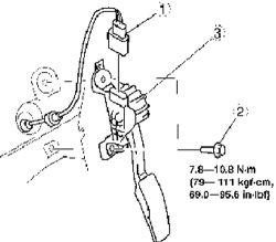 P2138 Chevrolet Accelerator Pedal Position Sensor 1 2
