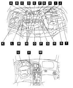 1999 Mitsubishi Eclipse Timing Belt Diagrams, 1999, Free
