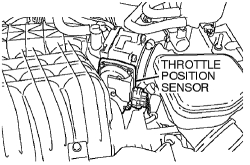 2007 Mitsubishi Outlander Radiator Sensor Location