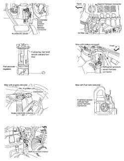 Nissan Frontier Engine Compartment Saturn Vue Engine