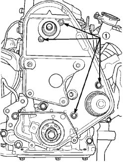 2005 Dodge Neon Timing Belt Cover, 2005, Free Engine Image