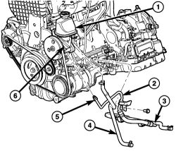 2001 pt cruiser cooling system diagram 2004 nissan 350z bose wiring   repair guides power steering pump removal & installation autozone.com
