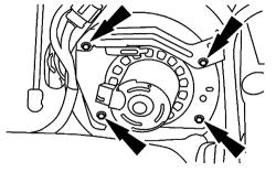 Mercury Grand Marquis 2003 Blend Door Actuator Removal