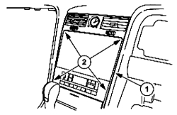 Service manual [2005 Lincoln Navigator Instrument Cluster