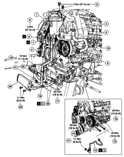2004 Lincoln Aviator Power Steering Diagram, 2004, Free