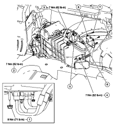 Ford repair professionals: How to remove Blend Door