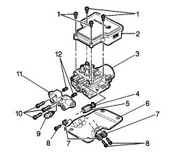 1998 Chevrolet: brake pedal vibration..pads, calipers, etc