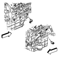 2005 Saturn Relay Belt Diagram Repair Guides Component Locations Knock Sensor