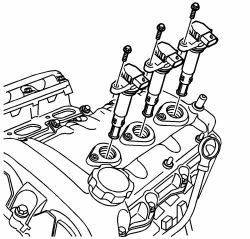 Ignition Coils 2009 Chevy Traverse Engine Diagram 2009