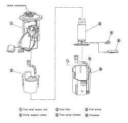 2002 Nissan maxima fuel sending unit