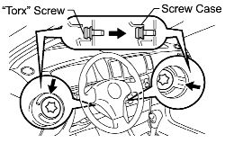 2003 Corolla: it to change or repair the spiral cable for