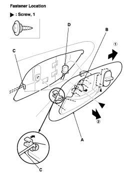 2004 honda accord ex: the door lock actuator..passenger