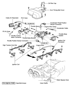 2001 Windstar Firing Order Diagram, 2001, Free Engine