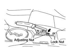 HowToRepairGuide.com: How to Adjust parking Brake cable on
