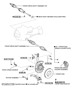 Service manual [How To Remove Front Differential 1998