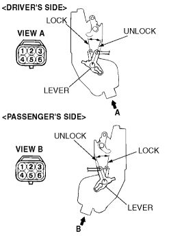 2008 Mitsubishi Eclipse Door Lock Actuator Diagram