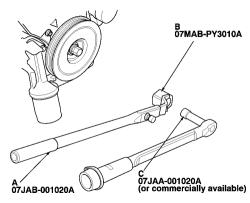 schematics and diagrams: Crankshaft Damper Replacement on