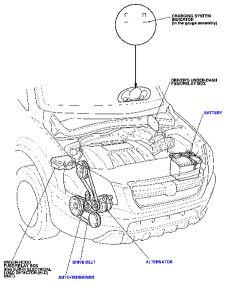 Water Pump Honda Pilot Buick Lacrosse Water Pump Wiring
