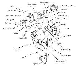1960 Thunderbird Steering Column, 1960, Free Engine Image