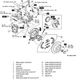 Mazda Millenia Suspension Diagram Lexus GS300 Suspension