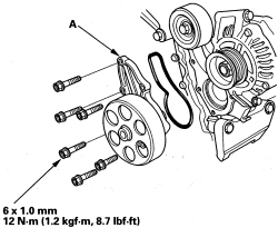 Replace Serpentine Belt On 2006 Pilot Honda
