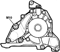 [Remove 2001 Hyundai Santa Fe Water Pump Repair Manual